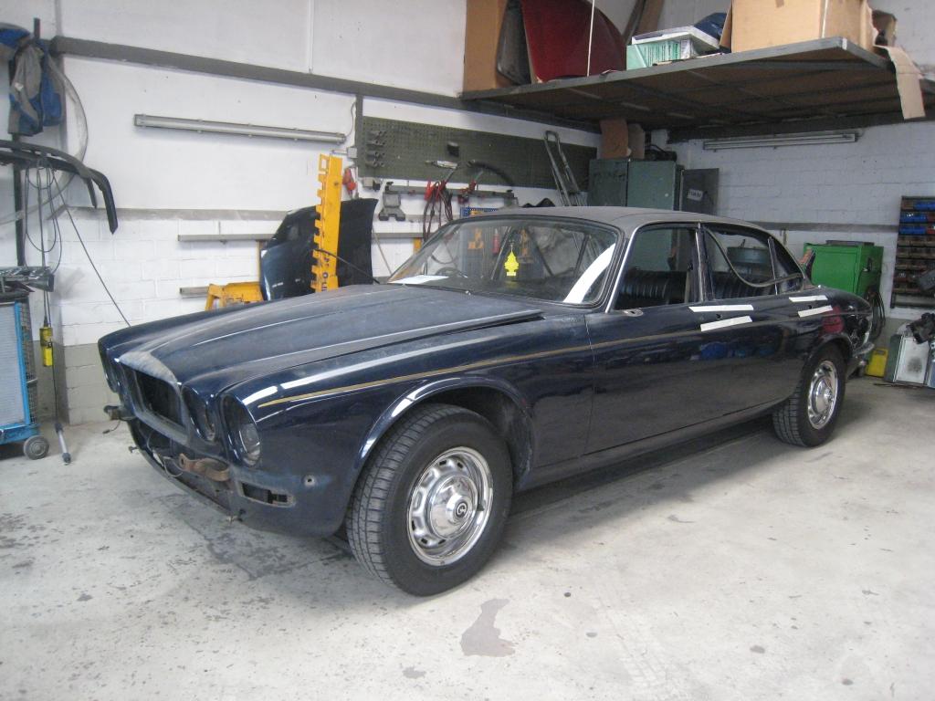 Jaguar Karosserie- und Lackierarbeiten