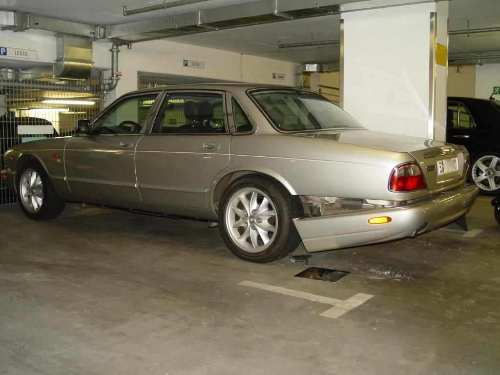 Parkschaden Jaguar Reparatur Berlin
